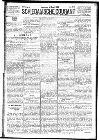 Schiedamsche Courant 1927-03-03