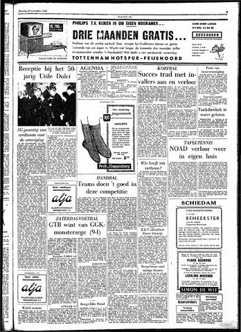 Rotterdamsch Parool / De Schiedammer 1961-11-14
