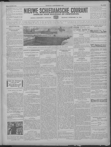 Nieuwe Schiedamsche Courant 1933-09-05