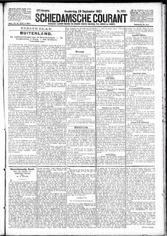 Schiedamsche Courant 1927-09-29
