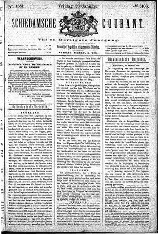 Schiedamsche Courant 1881-01-28
