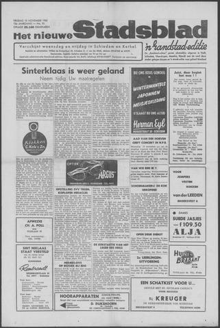 Het Nieuwe Stadsblad 1960-11-18
