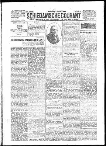 Schiedamsche Courant 1933-03-01