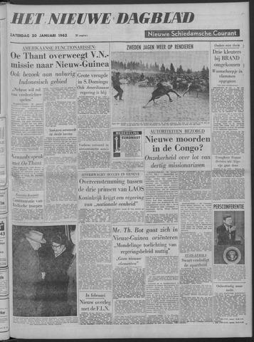 Nieuwe Schiedamsche Courant 1962-01-20
