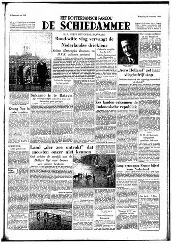 Rotterdamsch Parool / De Schiedammer 1949-12-28