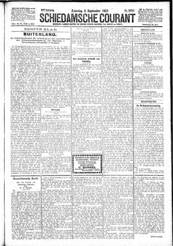 Schiedamsche Courant 1927-09-03