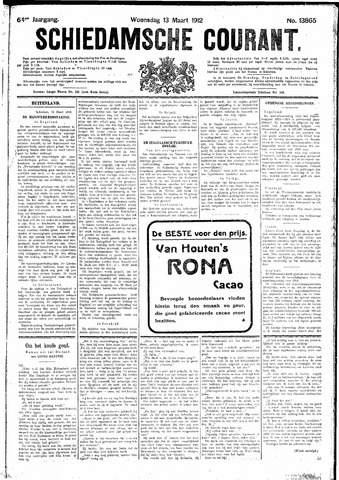Schiedamsche Courant 1912-03-13