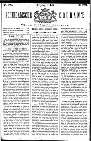 Schiedamsche Courant 1881-07-08