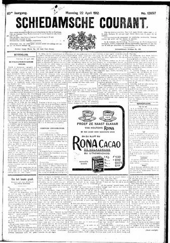 Schiedamsche Courant 1912-04-22