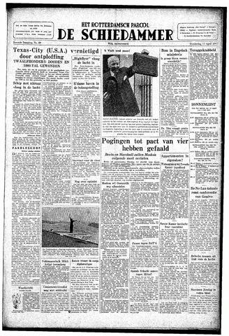 Rotterdamsch Parool / De Schiedammer 1947-04-17