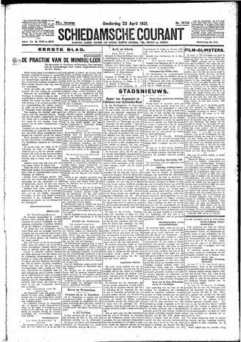 Schiedamsche Courant 1931-04-23