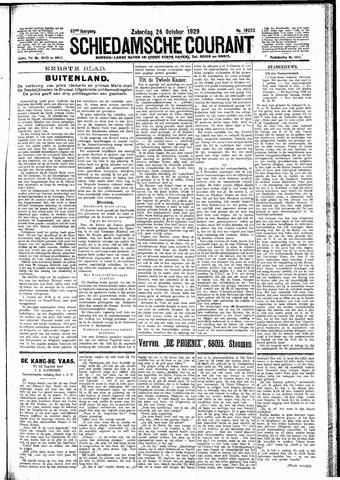 Schiedamsche Courant 1929-10-26