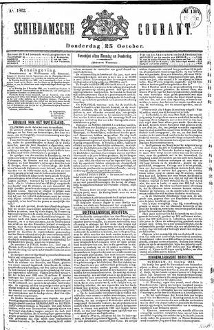 Schiedamsche Courant 1862-10-23