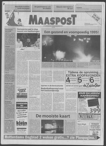 Maaspost / Maasstad / Maasstad Pers 1994-12-28