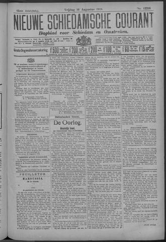 Nieuwe Schiedamsche Courant 1918-08-16