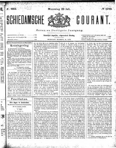 Schiedamsche Courant 1883-07-23