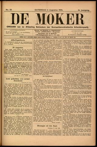De Moker 1906-08-04
