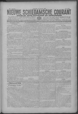 Nieuwe Schiedamsche Courant 1925-09-10