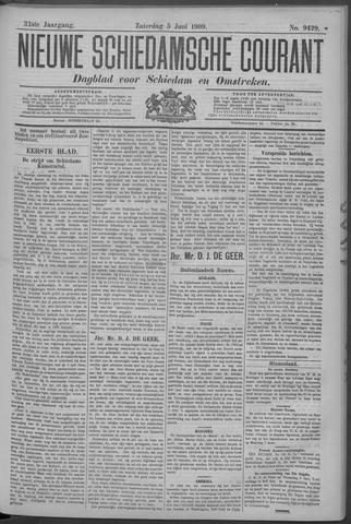 Nieuwe Schiedamsche Courant 1909-06-05
