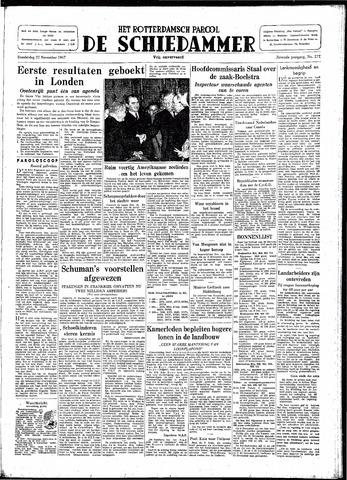 Rotterdamsch Parool / De Schiedammer 1947-11-27