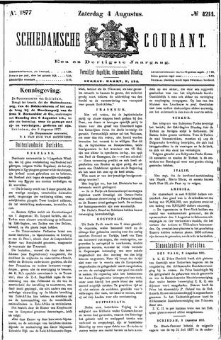 Schiedamsche Courant 1877-08-04