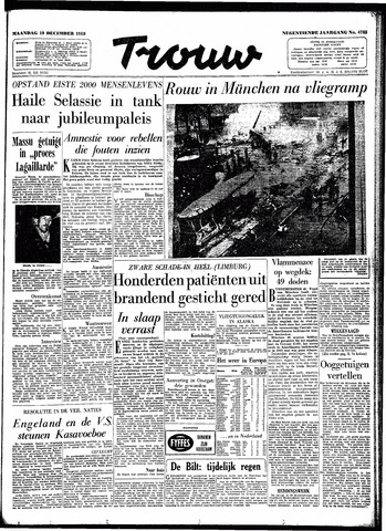 Trouw / De Rotterdammer 1960-12-19