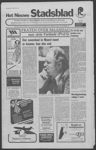 Het Nieuwe Stadsblad 1977-02-23
