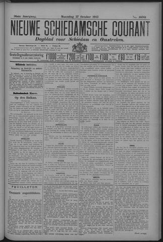 Nieuwe Schiedamsche Courant 1913-10-27