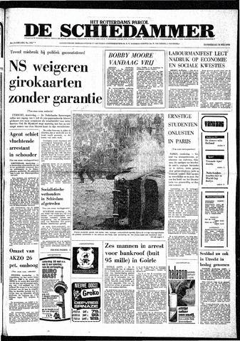 Rotterdamsch Parool / De Schiedammer 1970-05-28