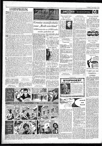 Rotterdamsch Parool / De Schiedammer 1959-11-27