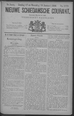 Nieuwe Schiedamsche Courant 1886-01-18
