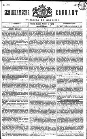 Schiedamsche Courant 1866-08-22