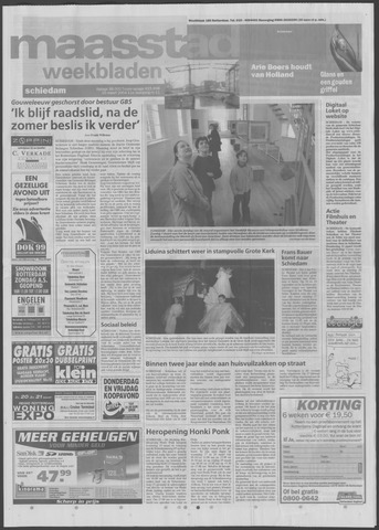 Maaspost / Maasstad / Maasstad Pers 2004-03-10