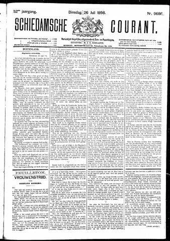Schiedamsche Courant 1898-07-26