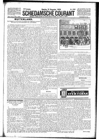 Schiedamsche Courant 1929-08-13