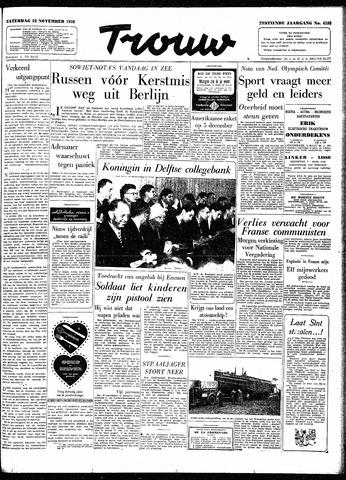 Trouw / De Rotterdammer 1958-11-22