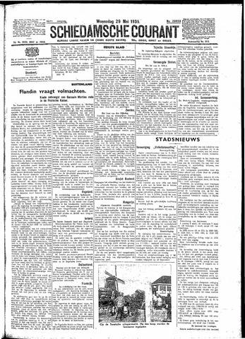 Schiedamsche Courant 1935-05-29
