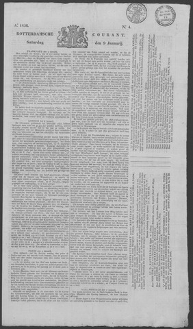 Rotterdamse Courant 1836-01-09