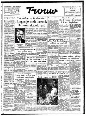 Trouw / De Rotterdammer 1956-12-06
