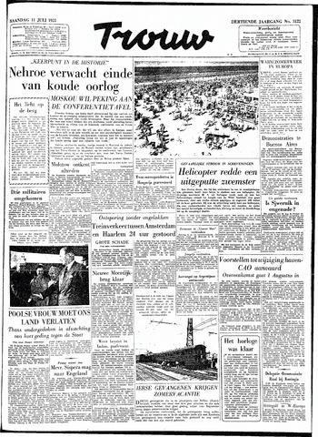 Trouw / De Rotterdammer 1955-07-11