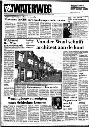 Rotterdamsch Nieuwsblad / Schiedamsche Courant / Rotterdams Dagblad / Waterweg / Algemeen Dagblad 1987-01-27