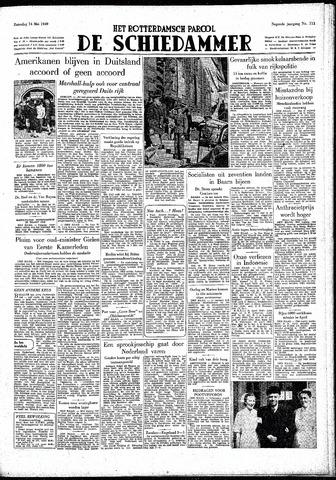 Rotterdamsch Parool / De Schiedammer 1949-05-14