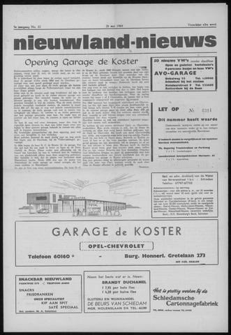 Nieuwland Nieuws 1964-05-28