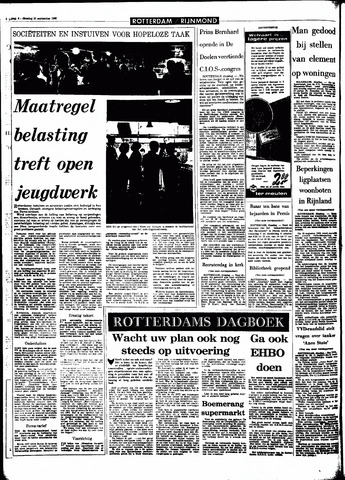 Rotterdamsch Parool / De Schiedammer 1966-09-20