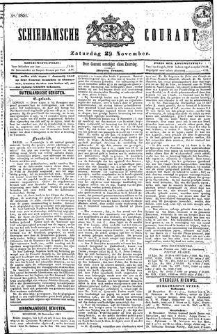 Schiedamsche Courant 1851-11-29