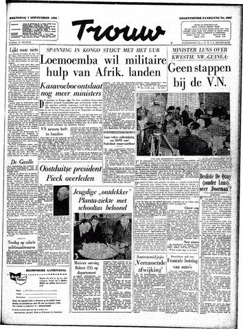 Trouw / De Rotterdammer 1960-09-07