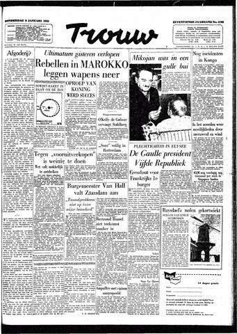 Trouw / De Rotterdammer 1959-01-08
