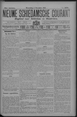 Nieuwe Schiedamsche Courant 1913-11-05