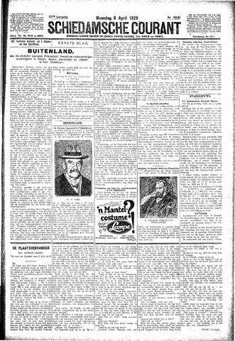 Schiedamsche Courant 1929-04-08
