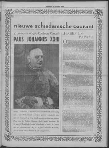 Nieuwe Schiedamsche Courant 1958-10-29